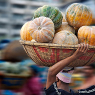 Climate extremes impact on regional food security